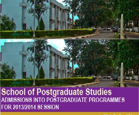 UNN Postgraduate Admission 2013/14: Application Forms, Registration,Closing Date