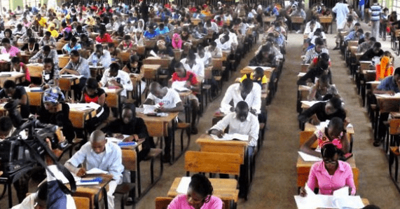 UNN Post Utme candidates writin exams