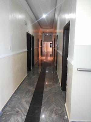 Jucony Hotel Room Walkway