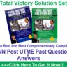 Total Victory UNN Post Utme Past Questions2 300x250