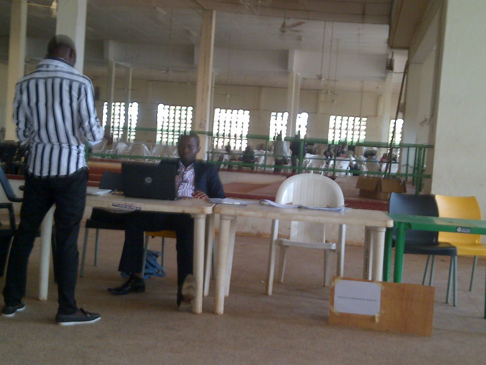 UNN New Students Clearance at Ekpo Ref