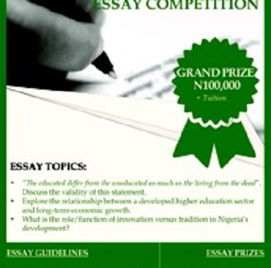 Apply for Nigeria Education Scholarship Competition