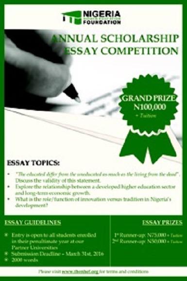 nhef essay contest