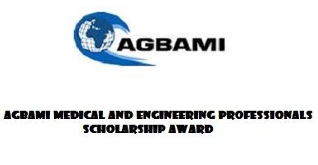 agbami scholarship application details