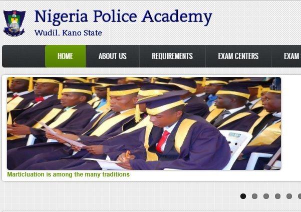 nigeria police academy form