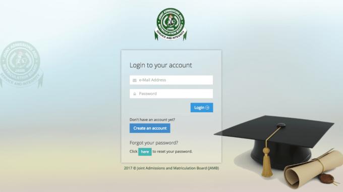 JAMB Admission Status Caps Portal 2017 – Check Accept Reject