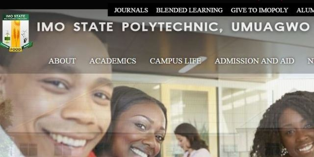 Imo Poly HND Admission Form 2018/2019 is Out [FT & PT]