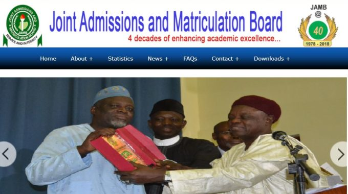 JAMB Sets August 21 Date for Commencement of Tertiary Institutions' Admission