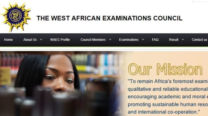 214,952 WAEC Candidates' Results Withheld for 2017 WASSCE