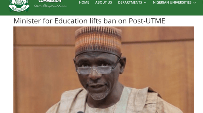 Post Utme 2019 Admission Screening News Updates for All Schools