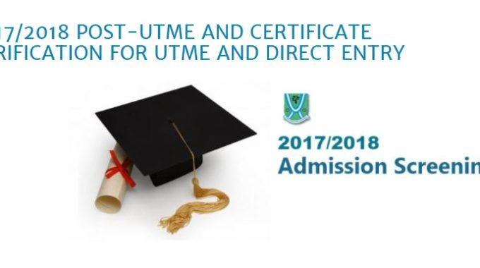 EBSU Post UTME 2019 Cut off Mark, Admission Screening Procedure