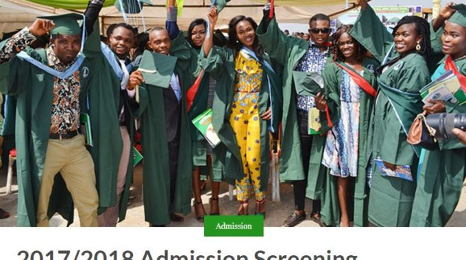 FUNAI Admission List 2017/2018 Session is Out – Check Here