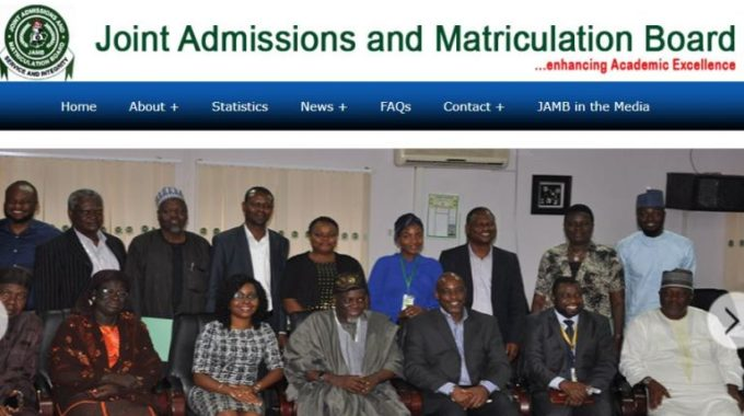 JAMB To Release 2017/2018 Admission Modalities, Cut-off Points Today