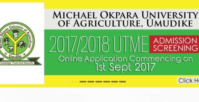 MOUAU Post UTME Date, Cut off Mark 2017/18 Announced