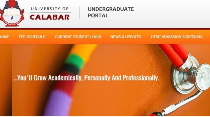 UNICAL Post-UTME 2017 Form is Out: Screening Date, Cut off Mark