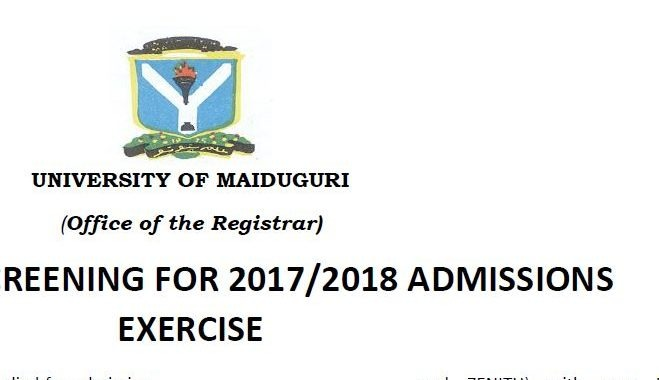 UNIMAID Post UTME 2017 Form, Cut off Mark & Screening Date is Out
