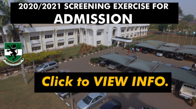 UNN Post UTME Form 2020 is Out — See Cut off Mark & Screening Details