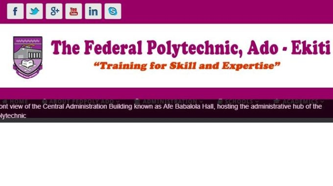 Federal Poly Ado Cut off Marks 2018/2019 Admission is Out
