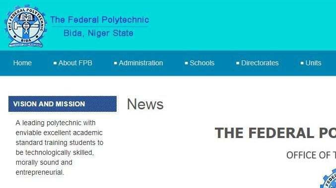 Fed Poly Bida Post UTME 2019: Form, Cut off Mark & Screening Date