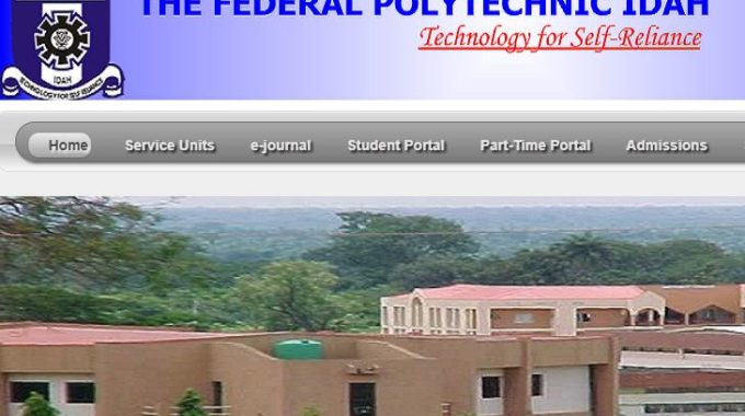 Fed Poly Idah Admission List 2018/2019 is Out [Check ND]