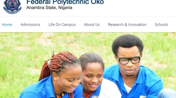 Fed Poly Oko HND Admission List for 2017/2018 Released