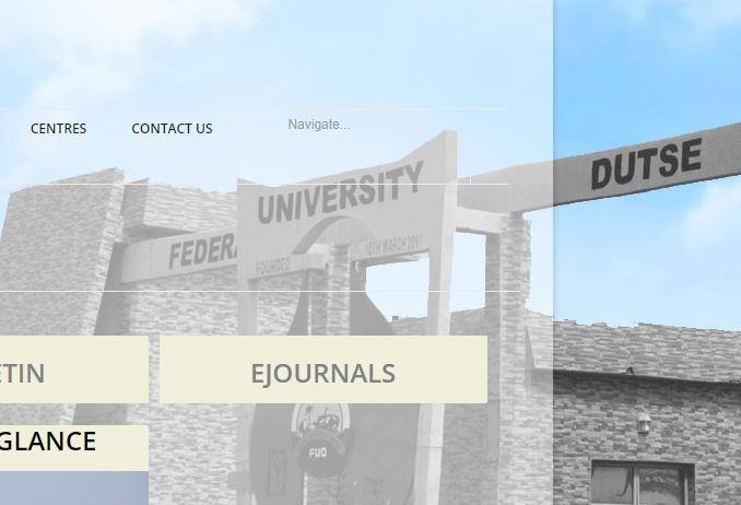 federal university dutse fud post utme 2017
