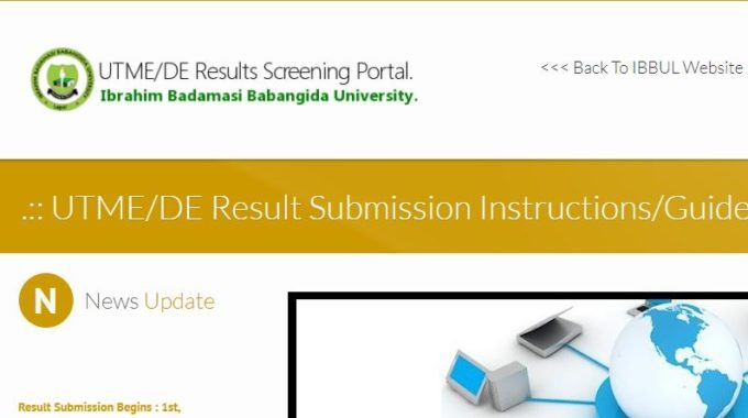 IBBU Post UTME 2017 Form, Cut off Mark & Screening Details