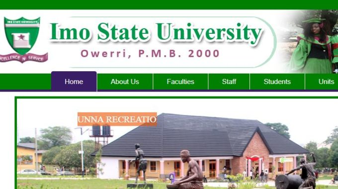 IMSU Post UTME 2018: Form, Cut off Mark & Screening Date is Out