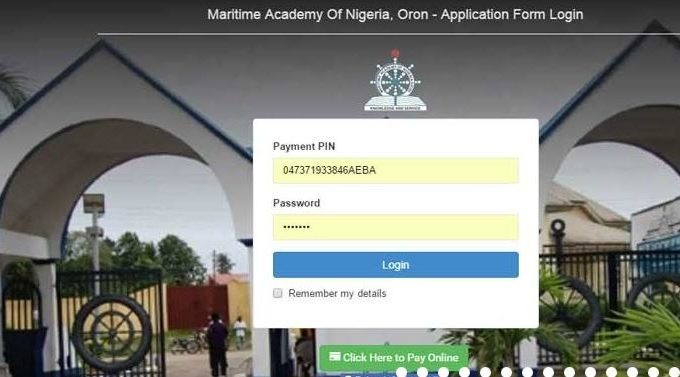 Maritime Academy Oron HND Form 2019/2020 Admission is Out