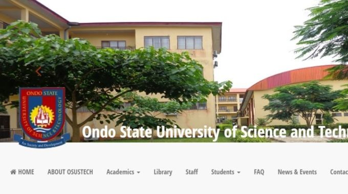 OSUSTECH Post UTME Form, Cut off Mark & Screening Date 2017/18 is Out