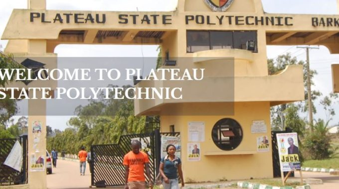 PlaPoly Post Utme Form 2017: Cut off Mark & Closing Date is Out
