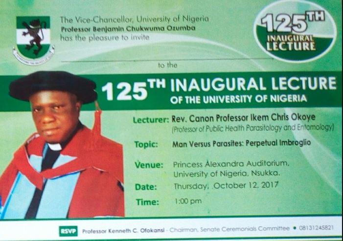 125 unn inaugural lecture