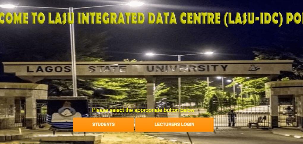 LASU Integrated Data Centre Lasu dpu idc portal