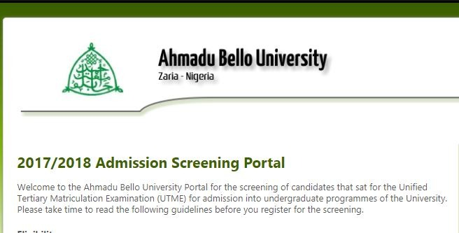 ABU Zaria Post UTME Result 2018/ 19 is Out – Check Here