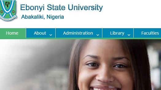 EBSU Departmental Admission Cut-off Points & Guideline 2018/2019