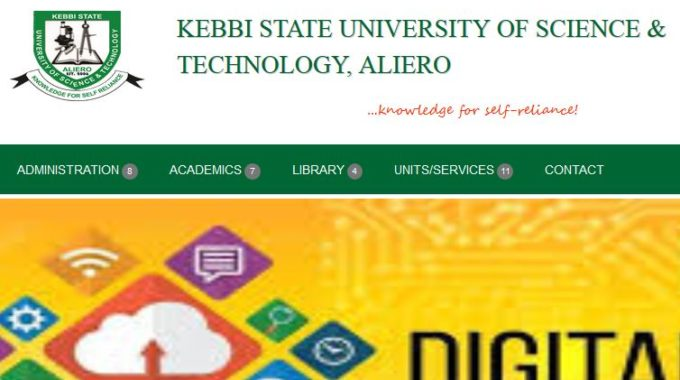 KSUSTA Admission List 2018/ 19 is Out – Check Here