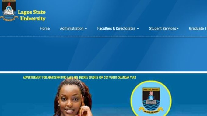 LASU Admission List 2017 / 2018 Out – Check Updated Names Here [Official]