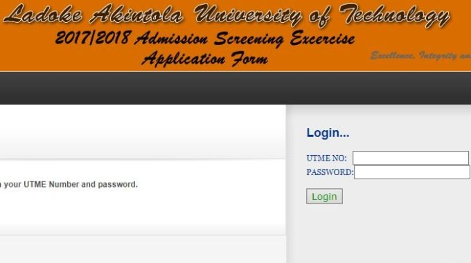 LAUTECH Post-UTME Result 2017/18 Session is Out – Check Here