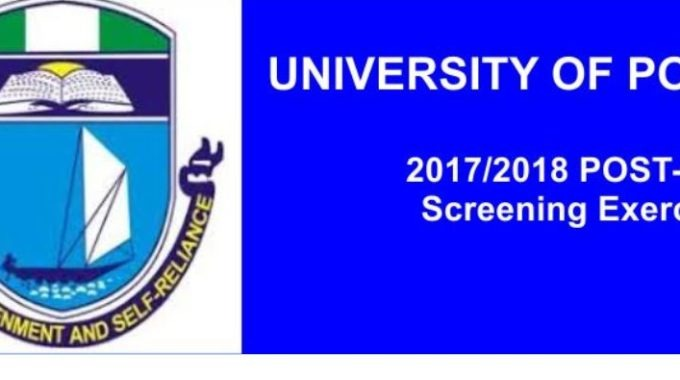 UNIPORT Admission List 2017/2018 is Out – Check 2nd Batch Here