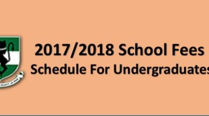UNN School Fees 2017/18 Session for Freshers & Returning [Reviewed]