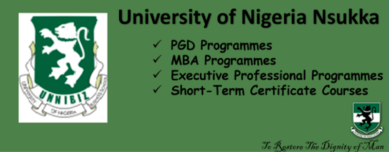 UNN Business School Admission Application Form