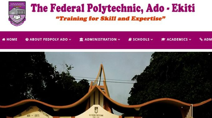 Fed Poly Ado HND Admission List 2018/2019 is Out