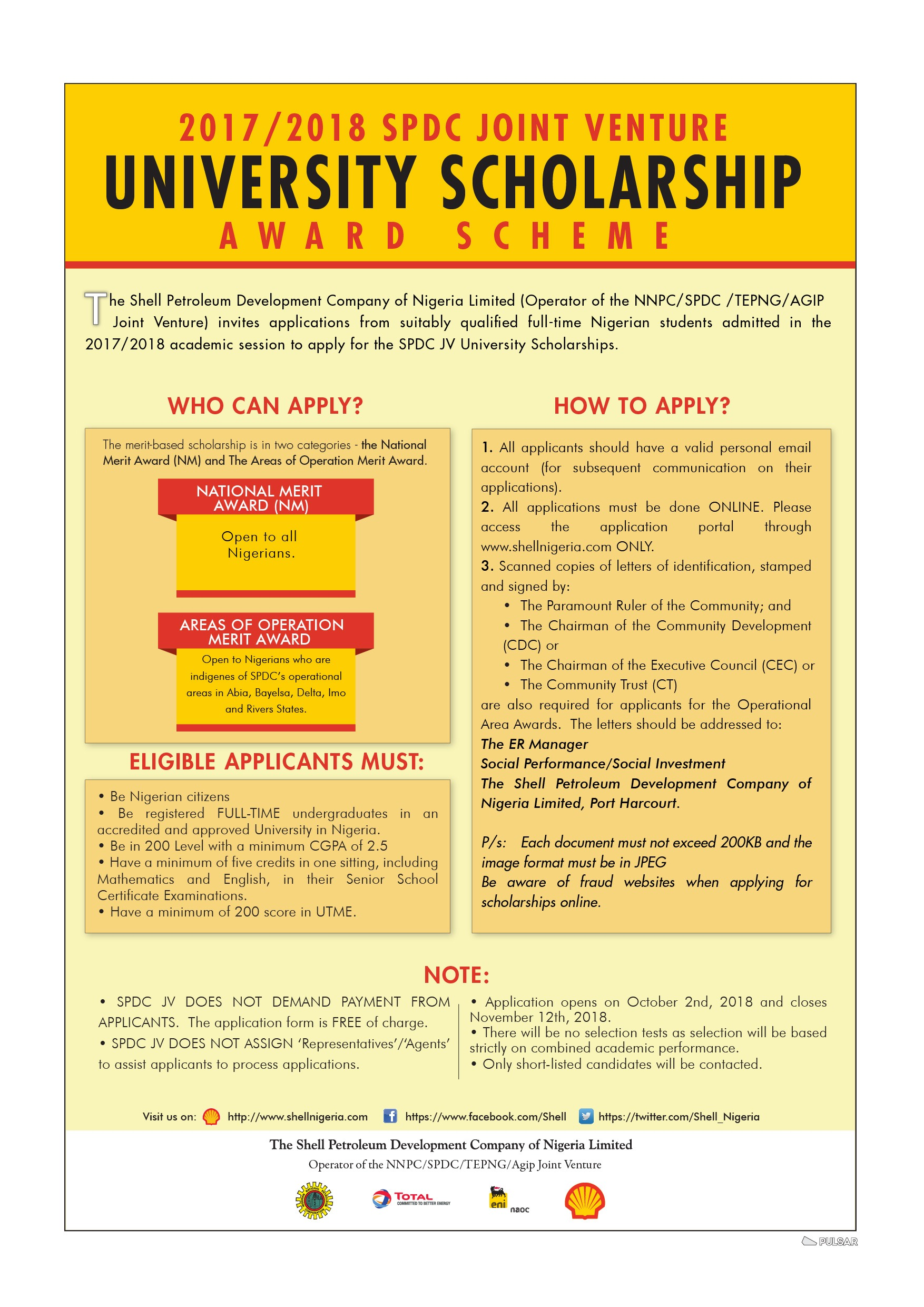 shell-scholarship-form-2018