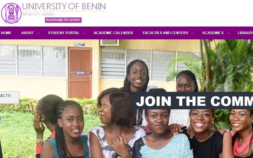 uniben admission list 2017/18