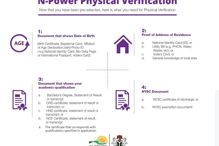 Npower Physical Verification