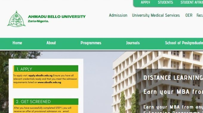 ABU Admission List 2018/ 19 is Out [1st & 2nd Batch]