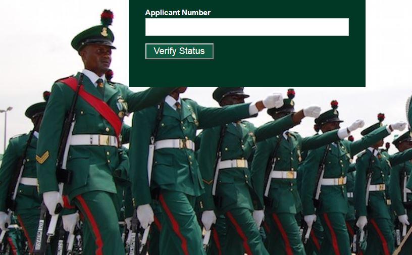 nigerian army shortlisted 77rri