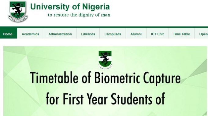 UNN 3rd List 2018/ 2019 [Third Batch] Admission Released