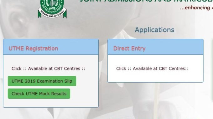JAMB Result 2019 UTME Released [Official]