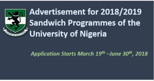 UNN Sandwich Form, Evening Degree & Diploma Admission 2019 Contact Commences
